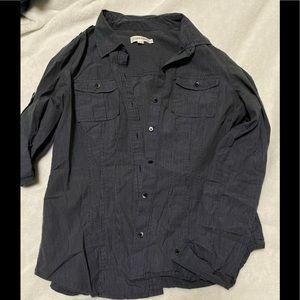 Calvin Klein Striped Button Down Shirt